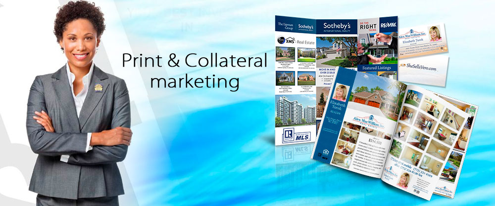 print and collateral marketing for realtors